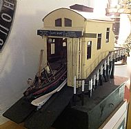 Lifeboat House model