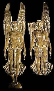 Brass Lighthouse Ornaments