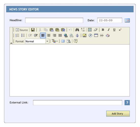 news story editor