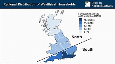 wealth distribution map showing massive discrepancy