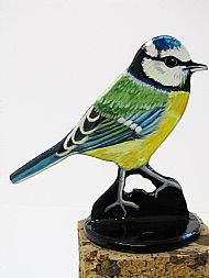 BLUETIT POST TOPPER