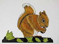 SOLD will have another one finished soon. Squirrel Hook Bracket