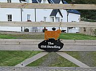 Highland cow house name plaque