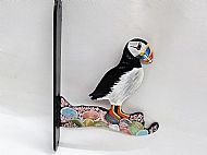 SMALL PUFFIN DECORATIVE BRACKET