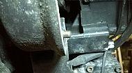 Starter motor positioning dowel