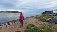 Walking along the Bay