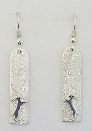 Long hare earrings HE/2