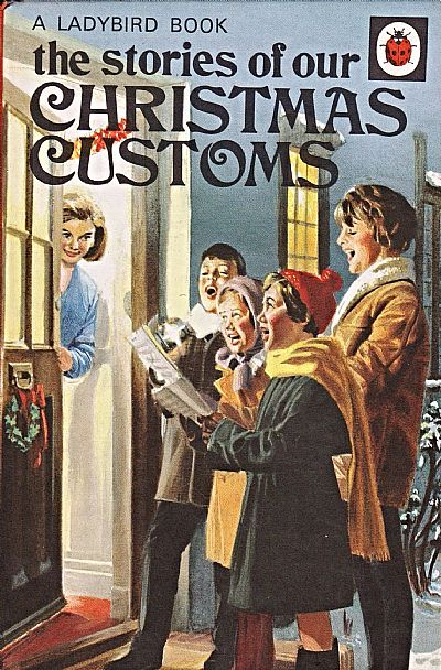 christmas customs book cover