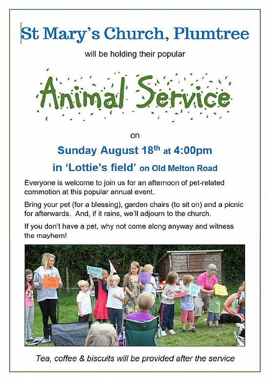 animal service poster