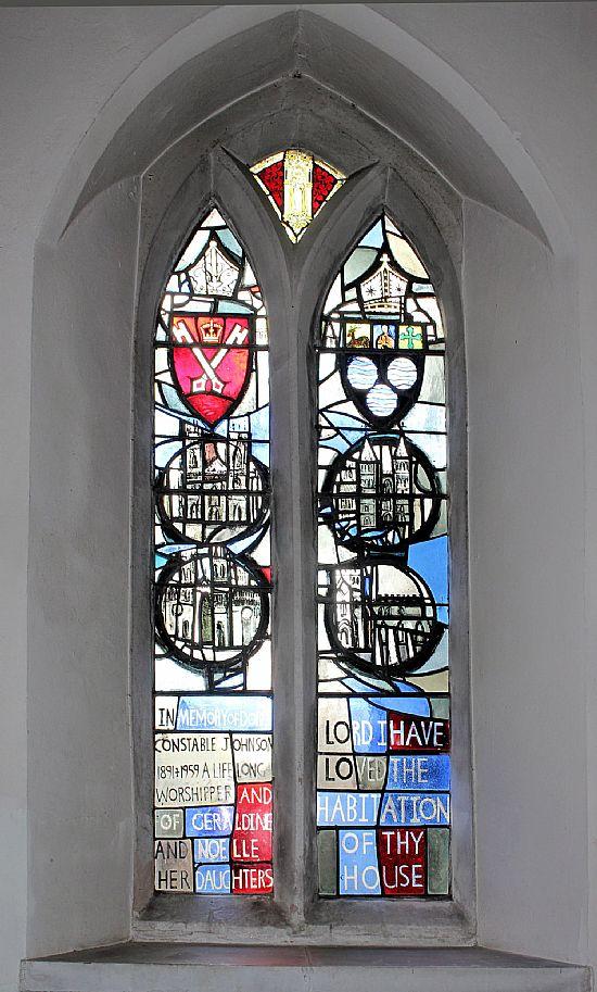 johnson memorial window