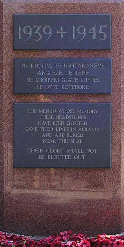 tirana war memorial