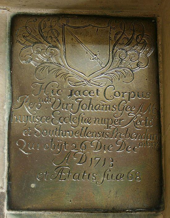 john gee's memorial