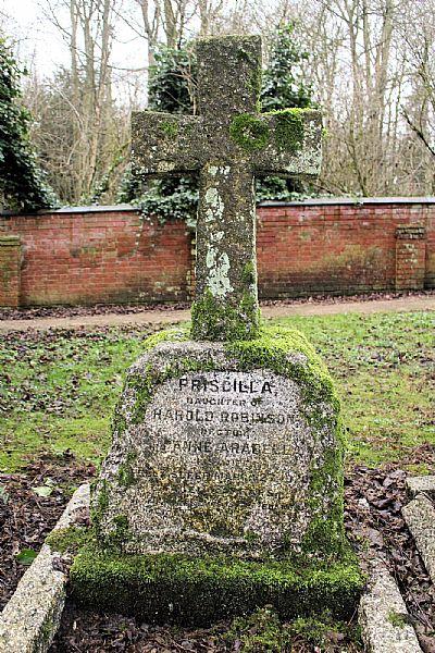 priscilla's headstone