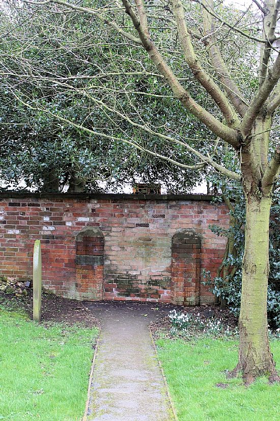 what remains of the old gate