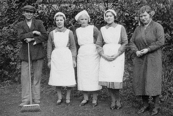 the robinsons' staff