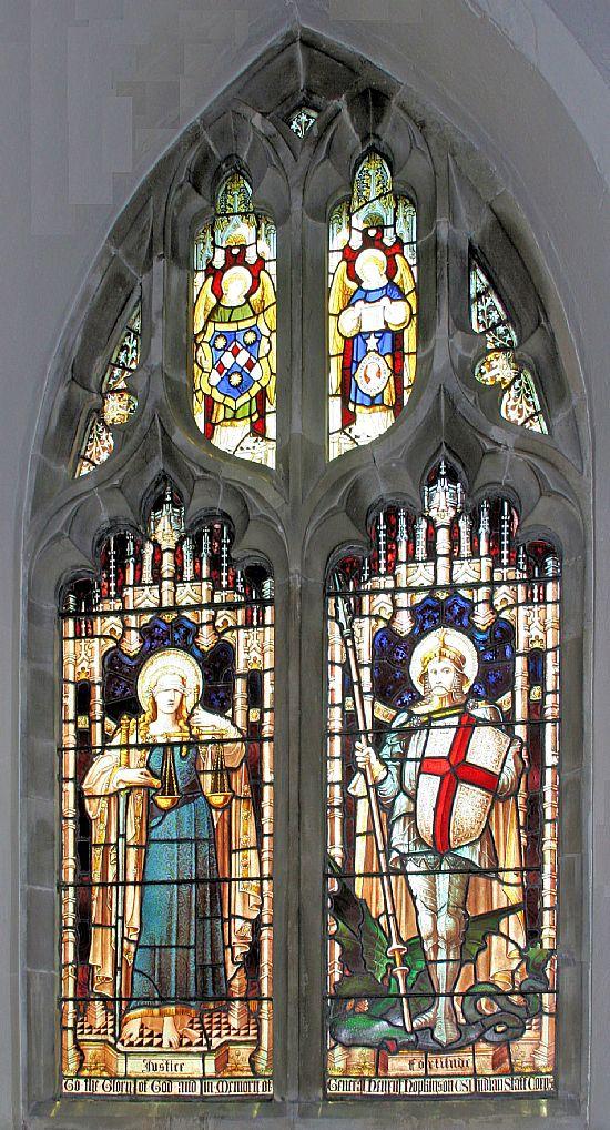 window in memory of henry hopkinson