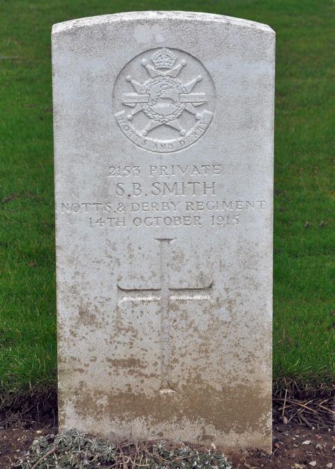 samuel benjamin smith - gravestone