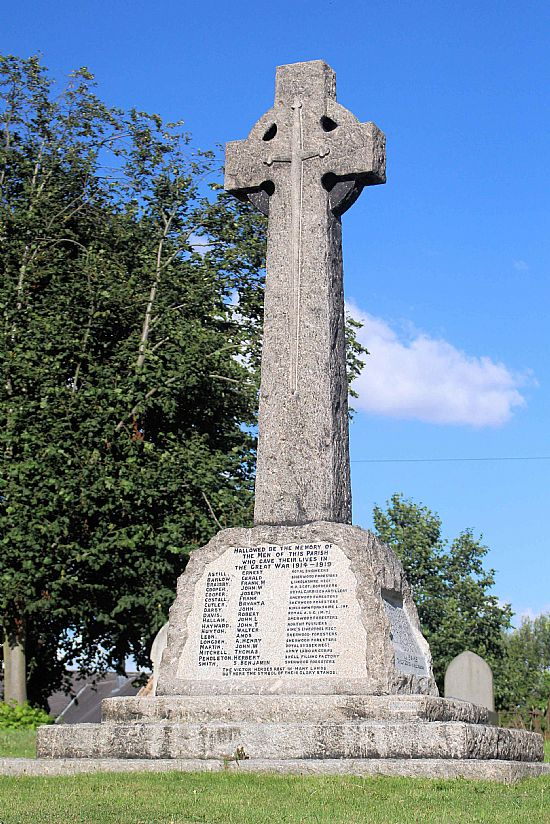 plumtree war memorial