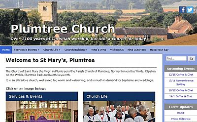 plumtree church website