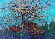 Winter Larch. Sold