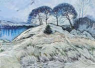 Midwinter, Loch Awe. Sold