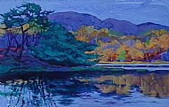 Evening Light, Loch Sween. Sold