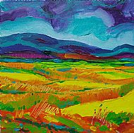 Storm Clouds, Crinan Moss.  Sold