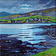 Storm Clouds, Loch Tuath, Mull.