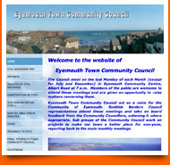 eyemouth community council - spanglefish