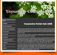 ynysawdre community council -  spanglefish