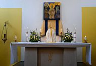 St Columba above the Tabernacle