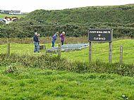 Clan Donald burial ground at Nerabus