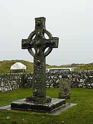 The high cross at Kildalton