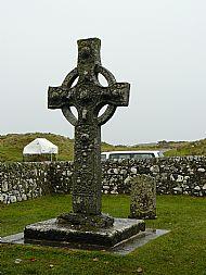 The high cross at Kildalton