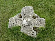 Top part of Flora's original headstone
