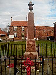 War Memorial on the Village Green
