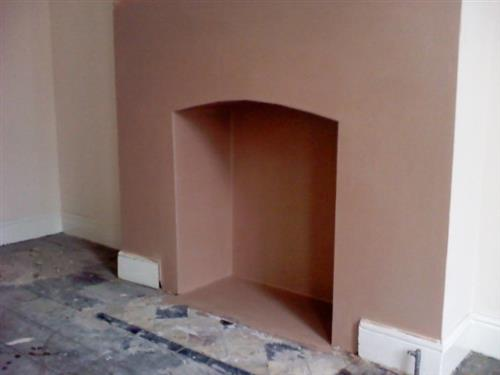 3-brand new finished feature fire place