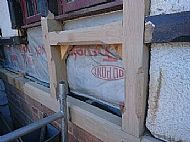 Milled timber framing