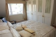 One of our bedrooms, both of which are situated on the third floor.