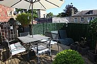 Breakfast can be served on our terrace, weather permitting!