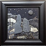 Rising Moon. Sold