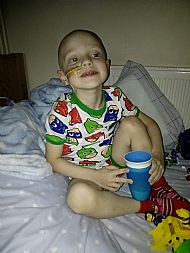 Denver during one of his stays in Addenbrookes Hospital