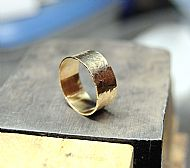 Upcycled 18ct Gold Ring