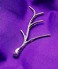 Sterling Silver Branch Brooch