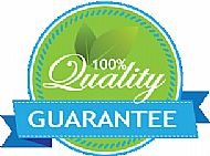 100% cleaning guarantee