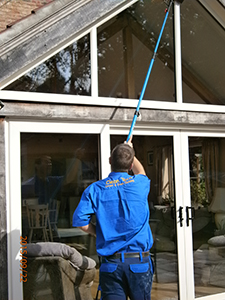 ladderless window cleaning in kings lynn norwich & norfolk