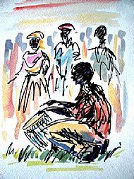 The drummer, Kajo Keji, South Sudan