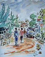 Local Street, Kigali, Rwanda