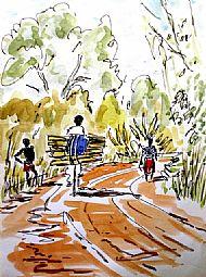 Logs on bike, Mityana