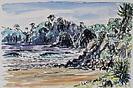 Sea Cliffs, Wooleys Bay, Matapouri